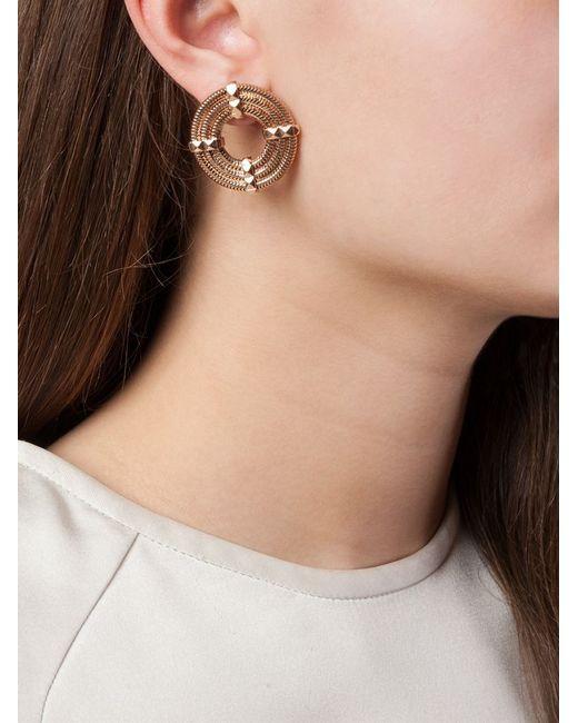 Lara Bohinc | Pink 'apollo' Earrings | Lyst