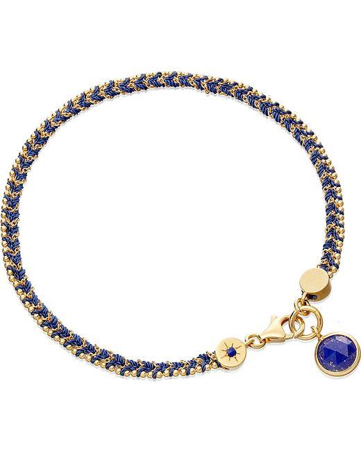 Astley Clarke | Metallic Lapis Woven Biography Bracelet | Lyst