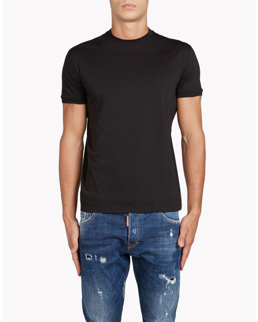 DSquared² | Black Chic Dan Fit T-shirt for Men | Lyst