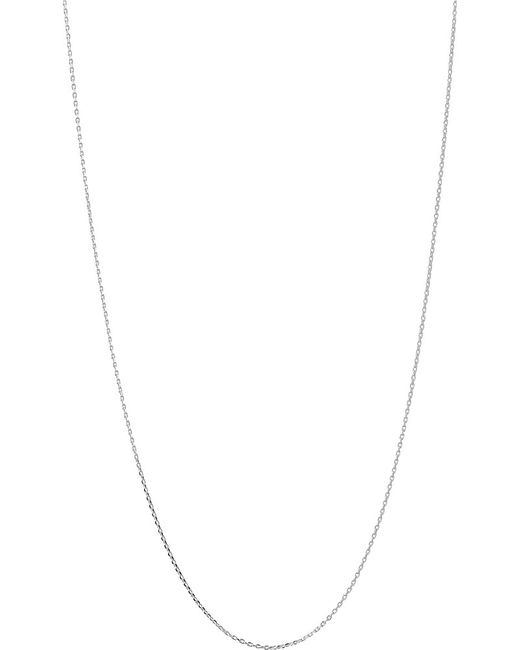 Links of London | Metallic Silver 1.2mm 50cm Diamond Cut Cable Chain | Lyst