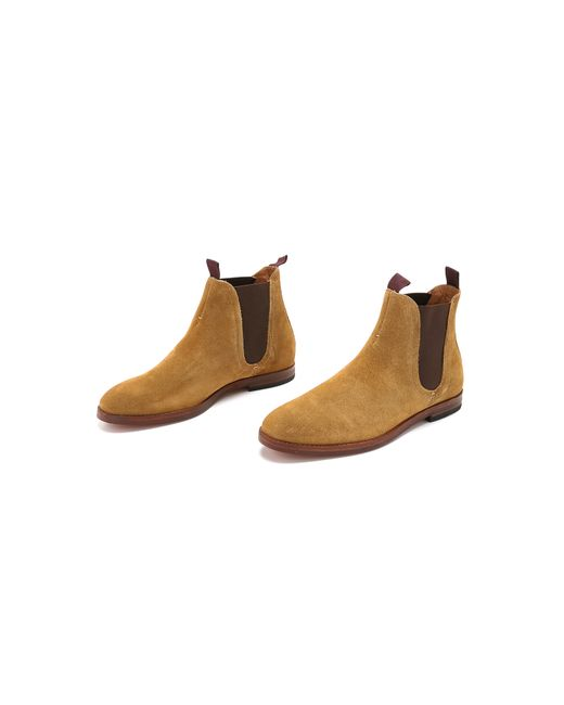 H by Hudson | Natural Tamper Suede Chelsea Boots for Men | Lyst