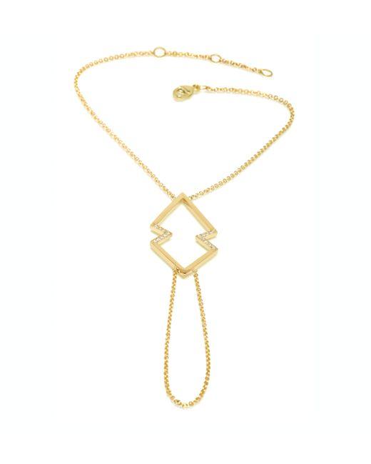 Zoe Chicco | Metallic 14k Gold Arrowhead Hand Chain | Lyst