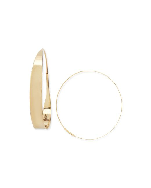 Lana Jewelry | Metallic 14k Large Glam Hoop Earrings | Lyst