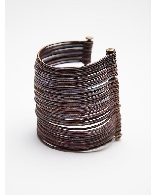 Sibilia | Metallic Large Calder Cuff | Lyst