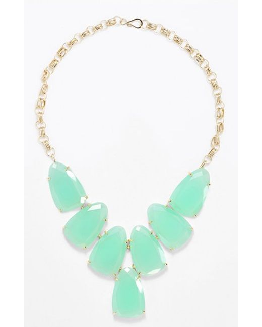 Kendra Scott   Blue Harlow Necklace   Lyst
