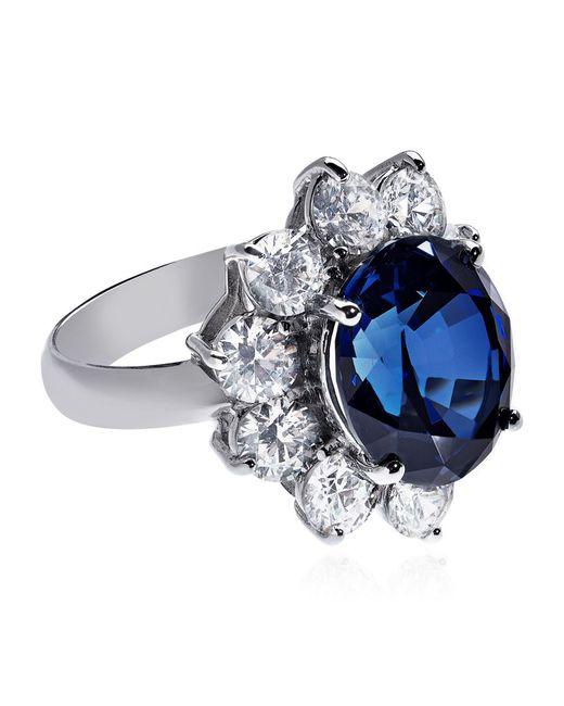 Carat* | Blue Royal Engagement Sapphire Ring | Lyst