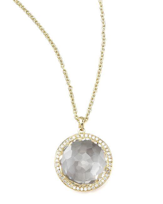 Ippolita | Metallic Clear Quartz Pendant Necklace | Lyst