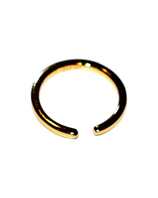 Argento Vivo | Metallic Open Band Ring | Lyst
