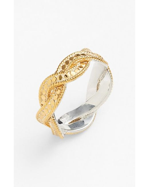 Anna Beck | Metallic 'gili' Twisted Ring | Lyst