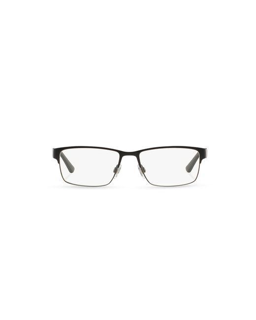 Polo Ralph Lauren   Black Striped Rectangular Eyeglasses for Men   Lyst