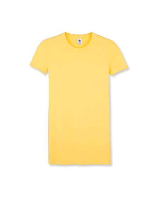 Petit Bateau   Yellow Women's Iconic Cotton Tee-shirt   Lyst
