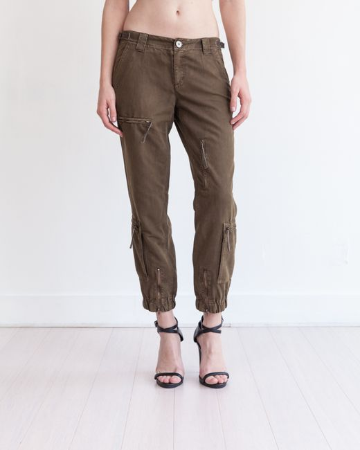 Marrakech | Brown Arthur Zipper Pant | Lyst