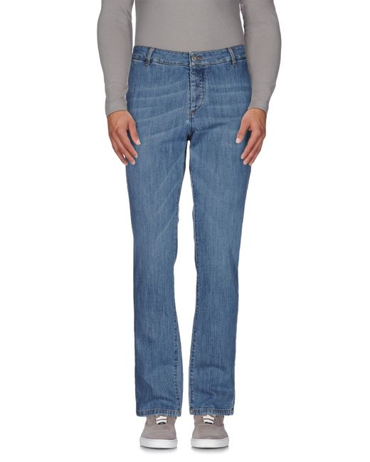 Alessandro Dell'acqua | Blue Denim Pants for Men | Lyst