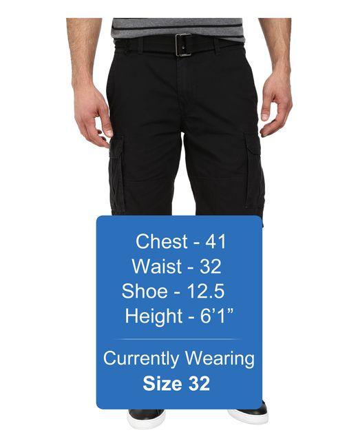 Dkny Mini Ripstop Cargo Shorts In Black in Black for Men - Save 40 ...