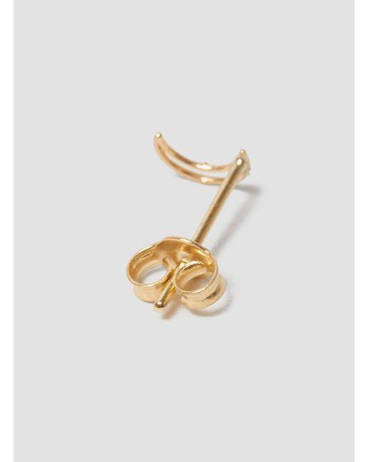 Grace Lee | Metallic Whimsy Moon Earrings 14k Gold | Lyst