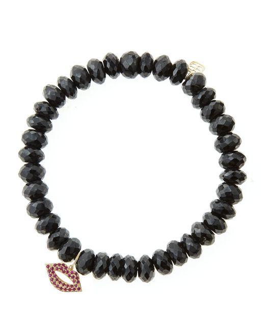 Sydney Evan | Black Design Your Own Bracelet (made To Order) | Lyst