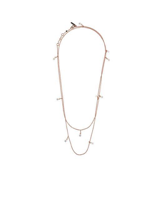 Tada & Toy | Metallic Sky Atlas Necklace Rose Gold | Lyst