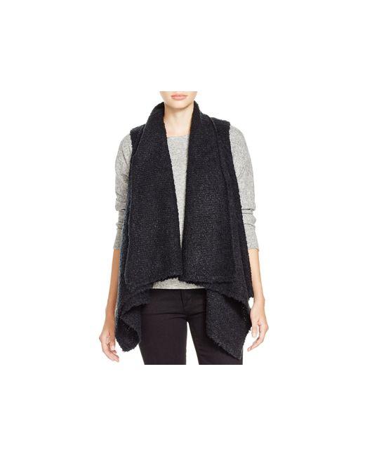 Soft Joie | Black Orrin Bouclé Sweater Vest | Lyst