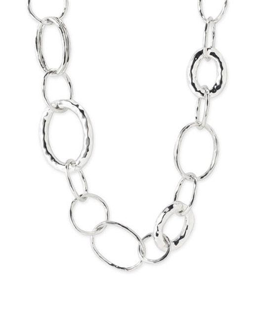 Ippolita | Metallic 'glamazon - Bastille' Sterling Silver Link Necklace | Lyst