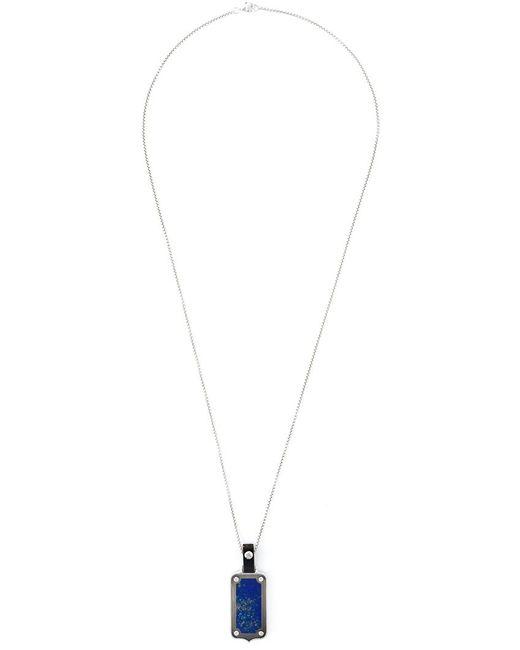Stephen Webster | Metallic Dog Tag Pendant Necklace for Men | Lyst