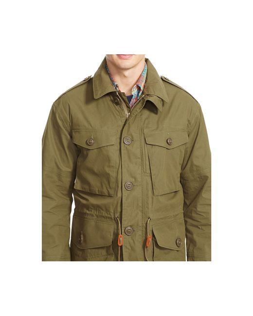 Polo Ralph Lauren Men S Waxed Cotton Combat Jacket In