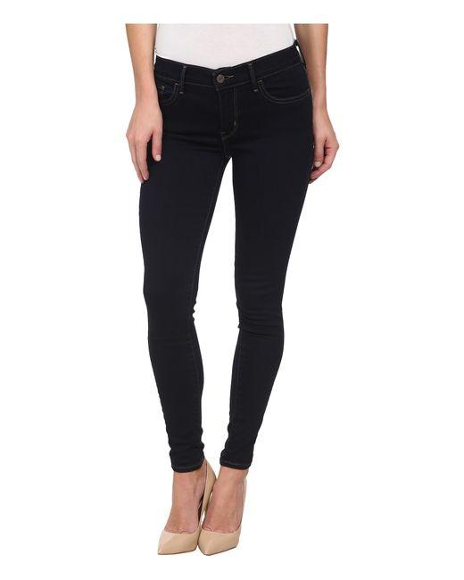 Levi's | Blue 710 Super Skinny Selvedge Jeans | Lyst
