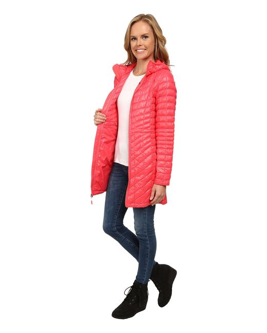 The North Face   Red Thermoball™ Hooded Parka   Lyst