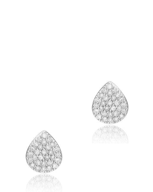 Monica Vinader | Metallic Alma Stud Earrings | Lyst