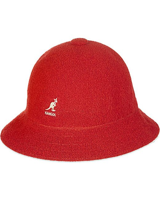 Kangol | Red Bermuda Hat for Men | Lyst