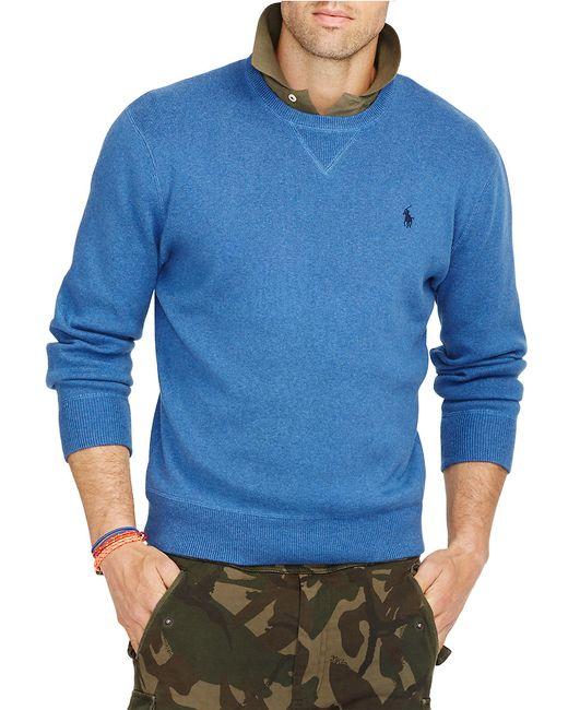 Polo Ralph Lauren | Blue Crewneck Sweatshirt for Men | Lyst