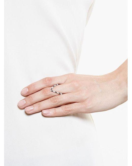 Yvonne Léon | Metallic Yvonne Léon Diamond 'vivianne' Ring | Lyst