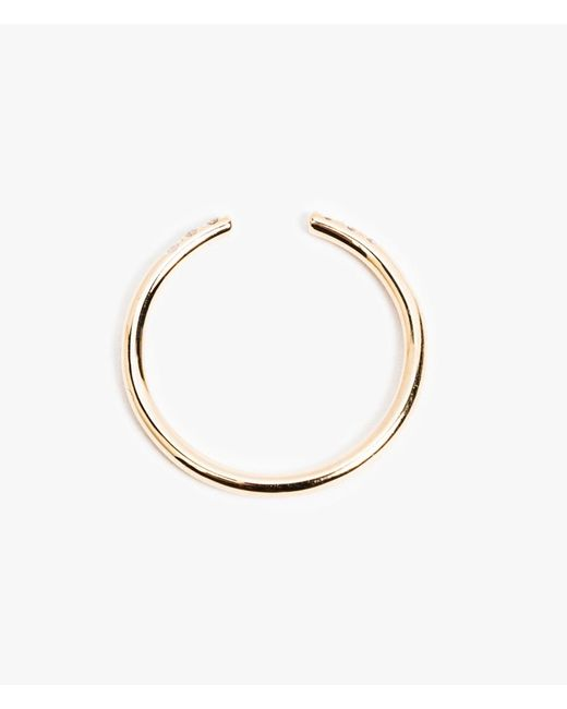 Jennie Kwon | Pink White Equilibrium Cuff Ring | Lyst