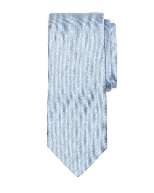 Brooks Brothers | Blue Textured Silk Tie for Men | Lyst