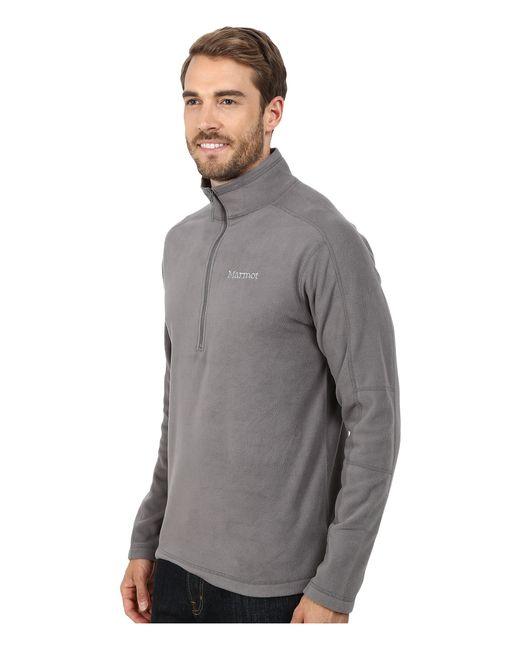 Marmot | Gray Rocklin 1/2 Zip for Men | Lyst