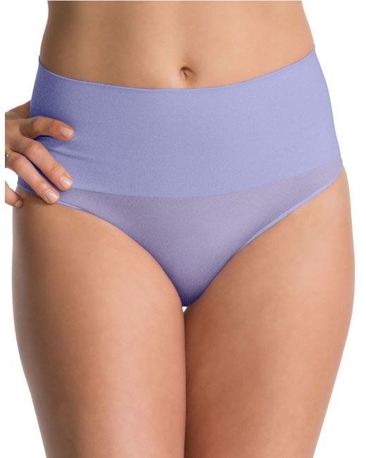 Spanx | Purple Shaping Brief Panty | Lyst