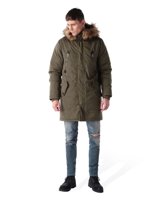 DIESEL | Green Jacket for Men | Lyst
