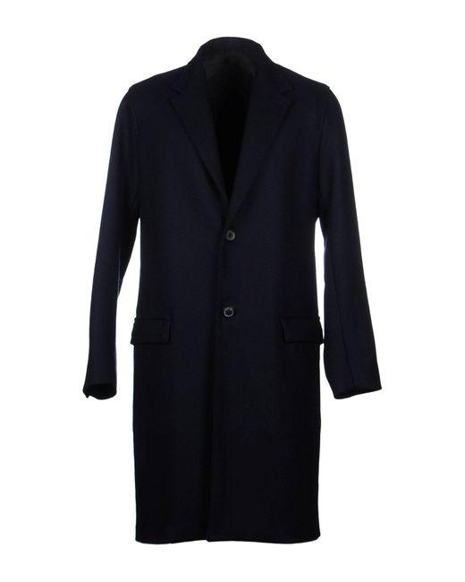 Lanvin Blue Coat for men