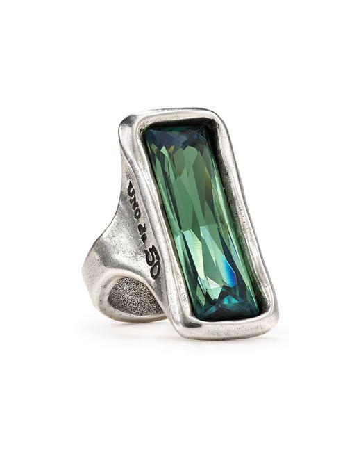 Uno De 50 Aurora Borealis Ring In Silver Lyst