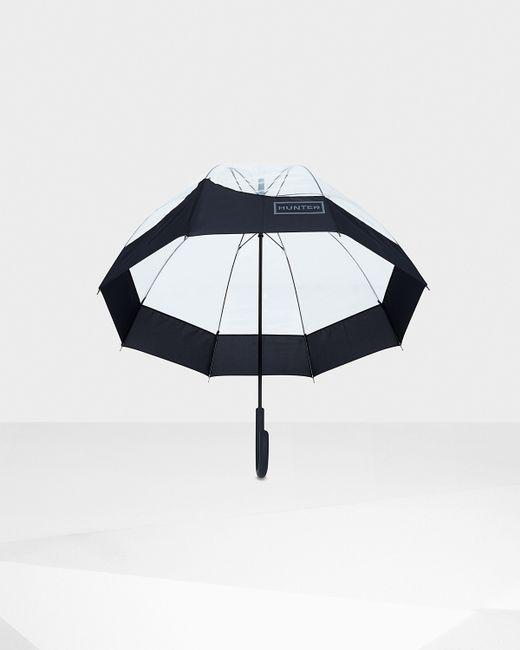 Hunter   Black Original Moustache Bubble Umbrella   Lyst