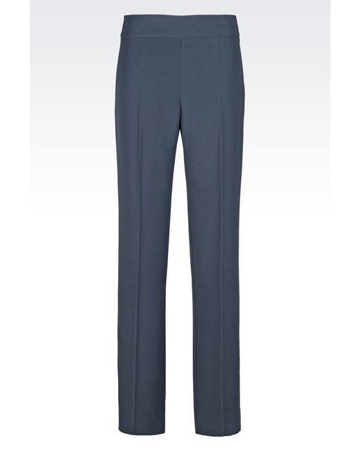 Armani | Gray Wide-leg Pant | Lyst
