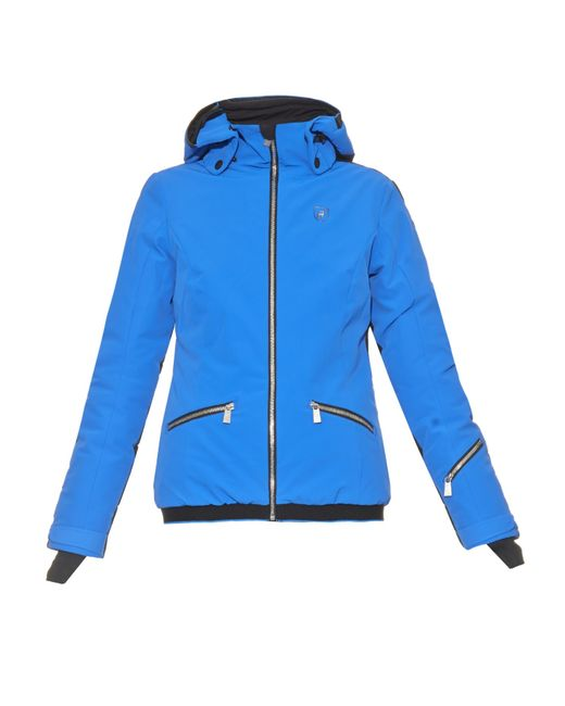 Toni Sailer Edda Ski Jacket In Black Black Blue Lyst