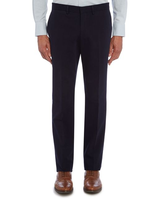 Chester Barrie | Blue Slim Fit Tailored Trousers for Men | Lyst