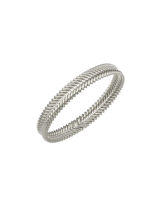 Chimento | Metallic 18k White Gold Armillas Collection Ridge Waves Bracelet | Lyst