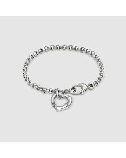 Gucci | Metallic Bamboo Bracelet In Silver | Lyst