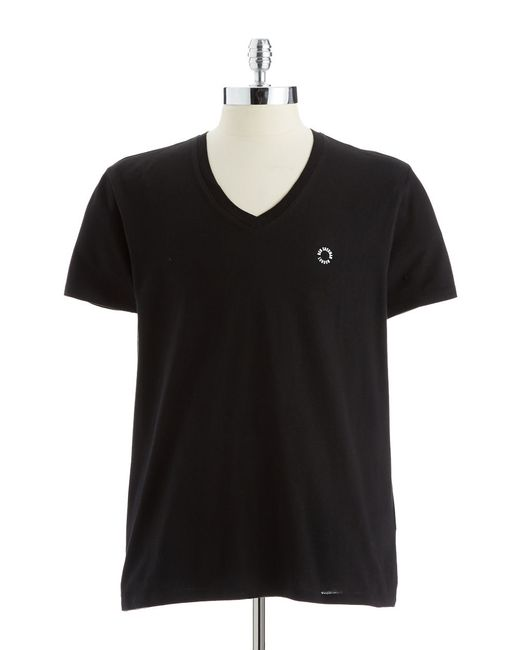 Ben Sherman | Black V-neck T-shirt for Men | Lyst