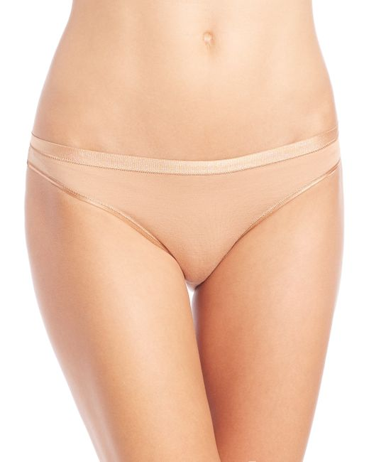 Hanro | Natural Soft Touch Bikini | Lyst