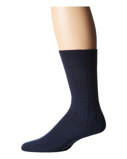 Falke | Blue Lhasa Rib Sock for Men | Lyst
