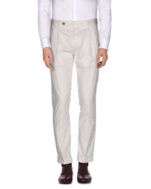 Mauro Grifoni | White Casual Pants for Men | Lyst