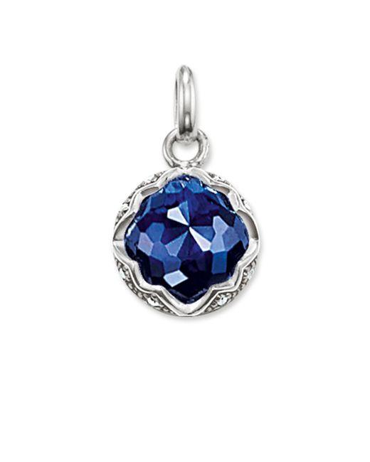 Thomas Sabo | Purity Of Lotos Blue Corundum Pendant | Lyst