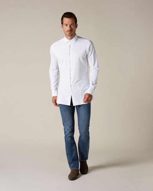 7 For All Mankind Slimmy Hash Mid Blue for men